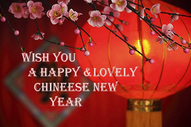 Happy Chinese New Year to you all! Kung Hei Fat Choy!