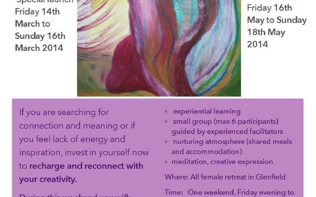 Creative Feminine Recharge Workshop