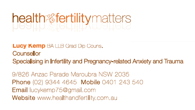 Health and Fertility Matters