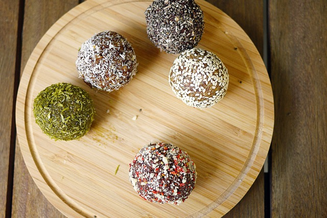 The Wholesome Pod Green Tea Matcha Balls