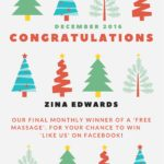 Winner of December Massage!