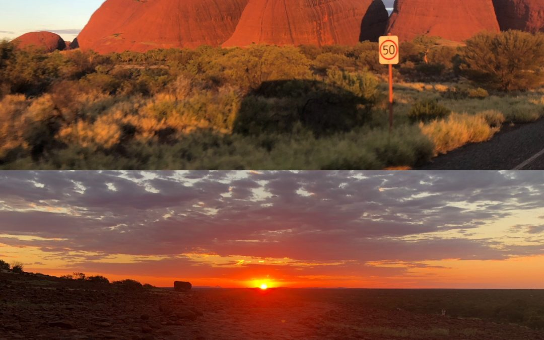 I traveled to Uluru