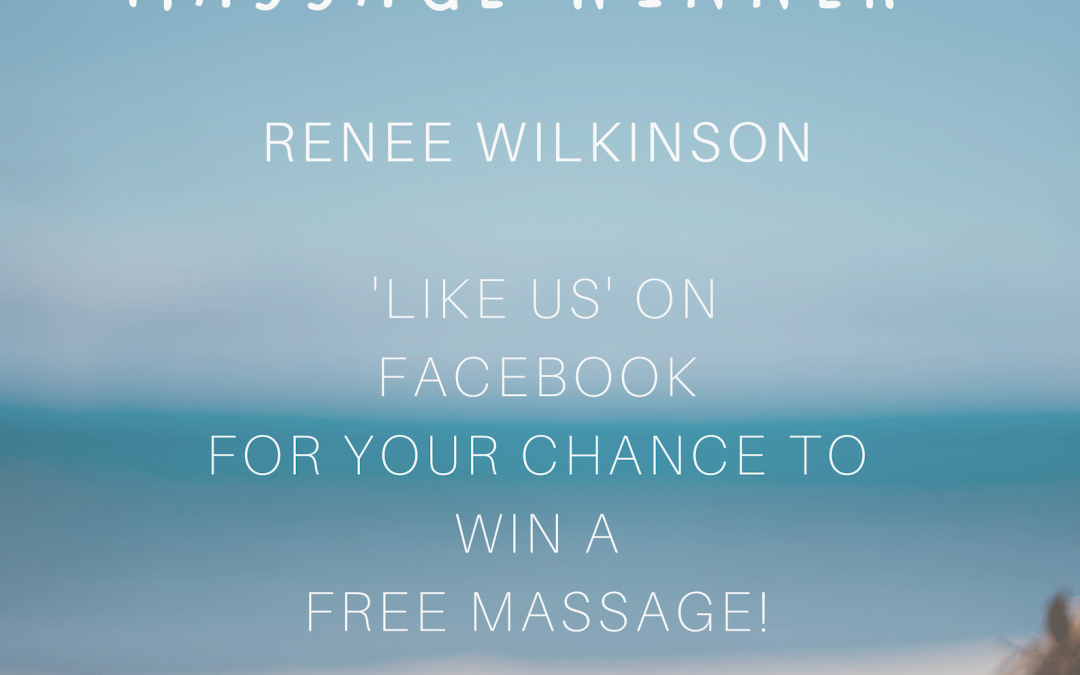 Our February massage winner