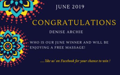 Massage Giveaway Winner