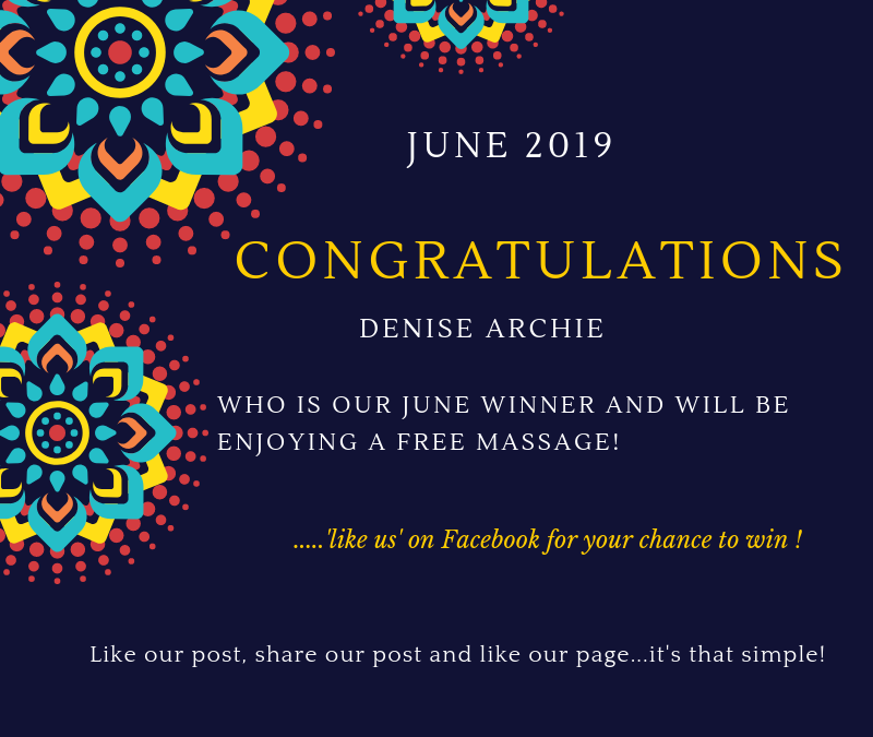 Massage Giveaway Winner