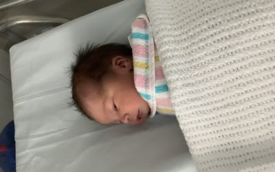 Welcome to the world baby Fleur!