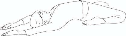 Spleen and Stomach Stretch