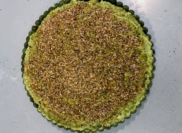 No Bake Avocado Cheesecake
