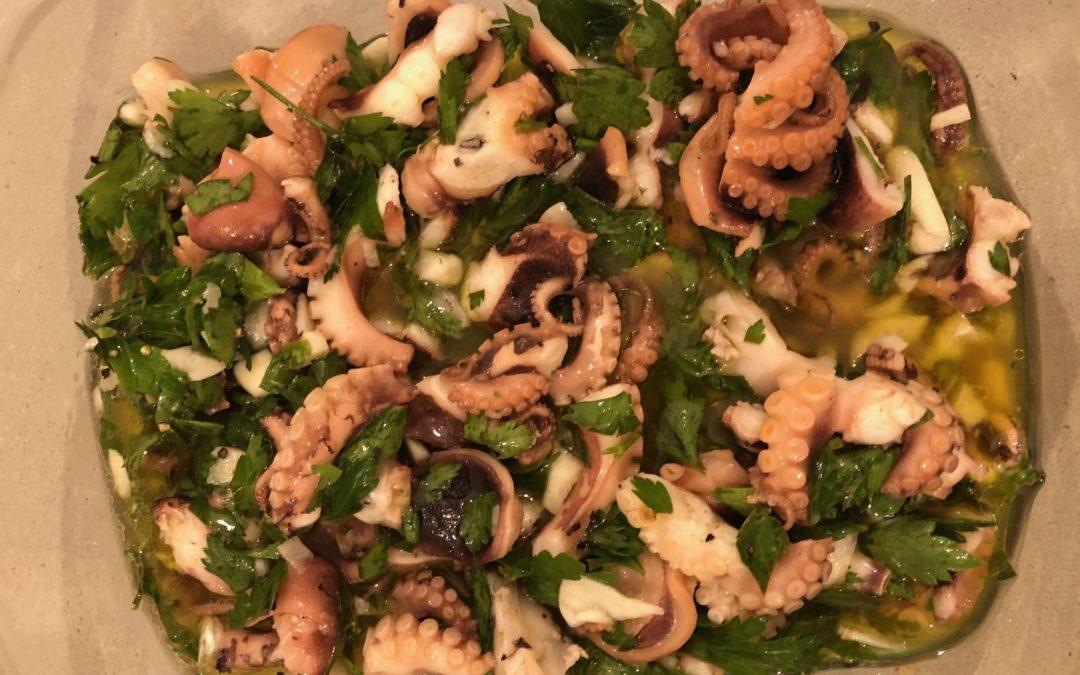 Octopus Recipe