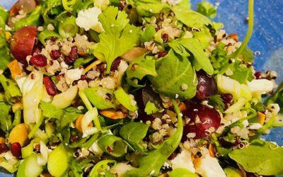 Grape Quinoa Salad